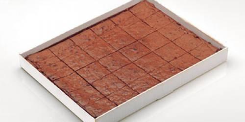 BROWNIE PLAQUE CHOCO PECAN 80G (2X30 PC)