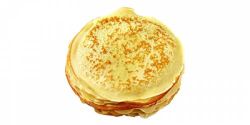CREPES SUCREES Ø 33CM - 10SACS X 10 PC