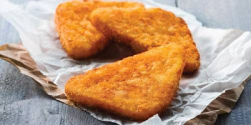 HASH BROWNS  TRIANGLE (10  X 1 KG)