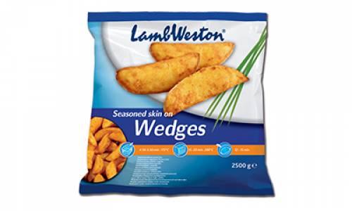 POMMES  WEDGES LW -  (4X2.5KG)